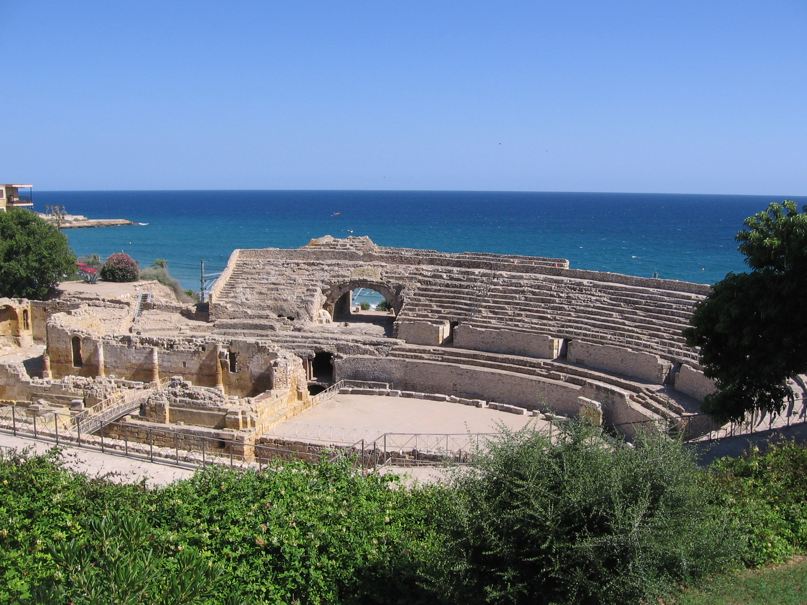 Our area - The Roman amphitheater in Tarragona